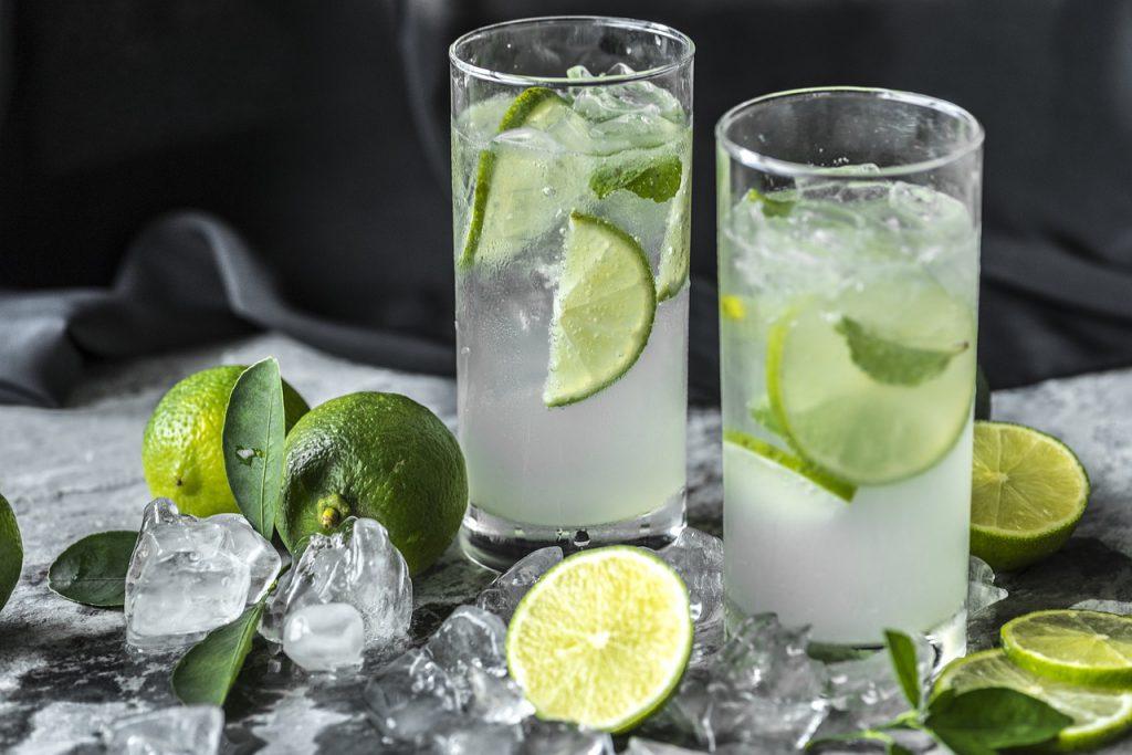 Gyömbér limonádé citrusfélékkel