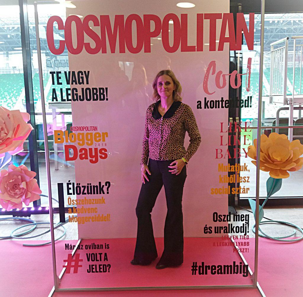 Cosmopolitan Blogger Days fotófal