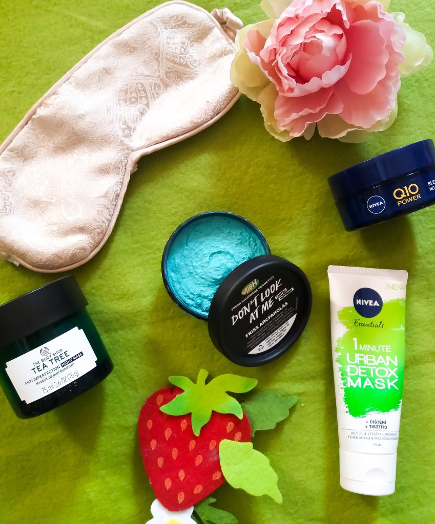 Az arcmaszk egy kis plusz ápolást ad a bőrnek