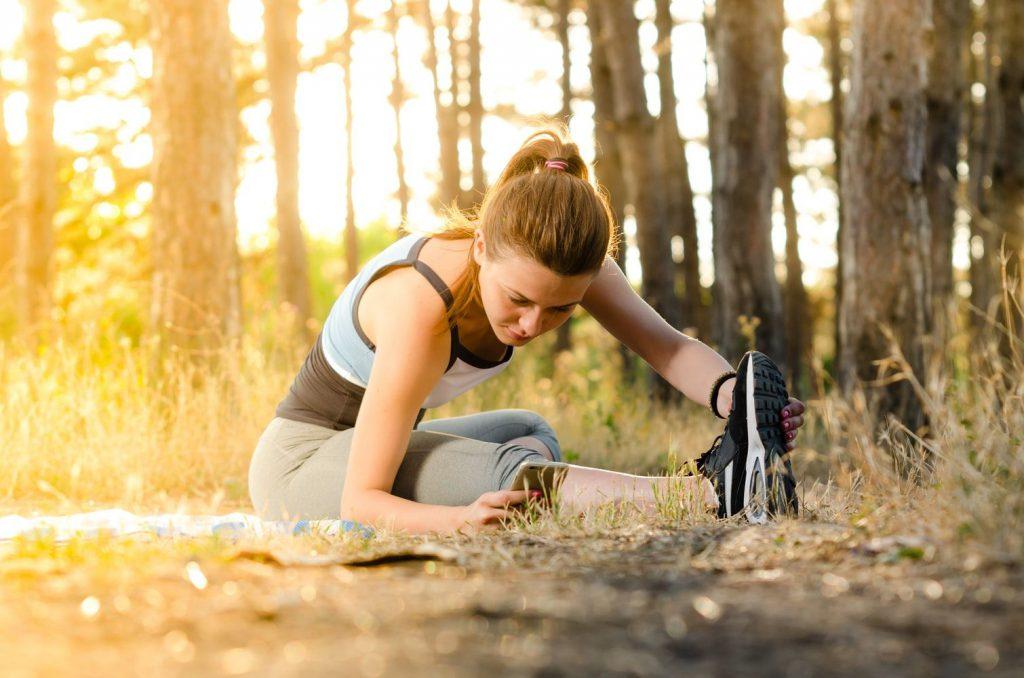 Hatékony edzés otthon, a kertben