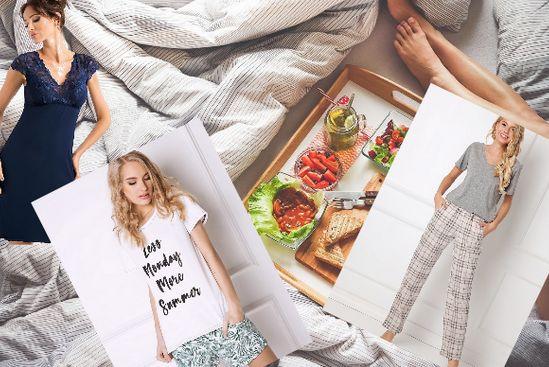 Kényelmes pizsamák