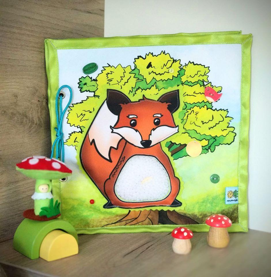 Gyermeknapi ajándékok: Ananas csendeskönyv