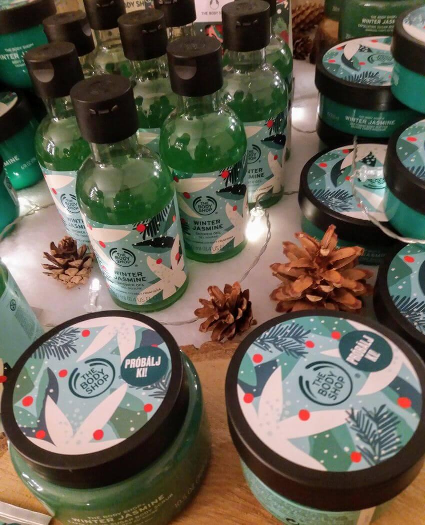 The Body Shop karácsonyi kollekció: extra karácsony, extra kényeztetés