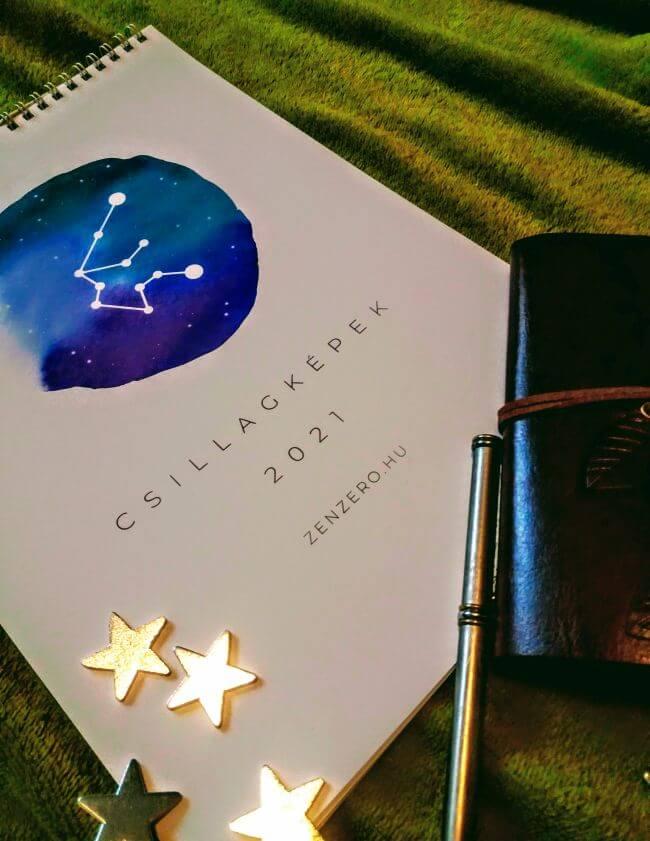 Zenzero Csillagképek naptár 02