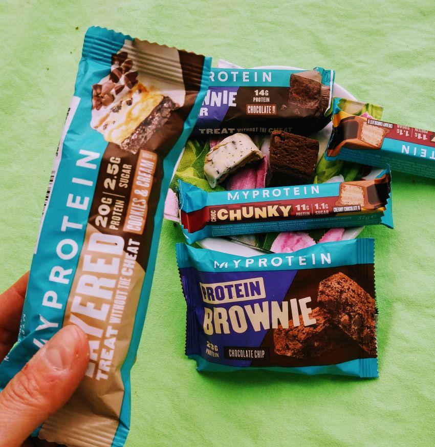 Édesség helyett fehérjés csoki