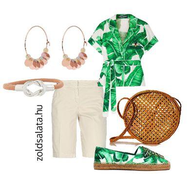 Rövidnadrág outfit tavasz típusoknak